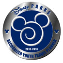 Recognized Disney Youth Travel Planner